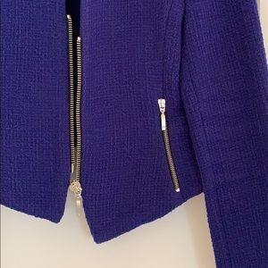 Zara Zip-Up Moto Jacket